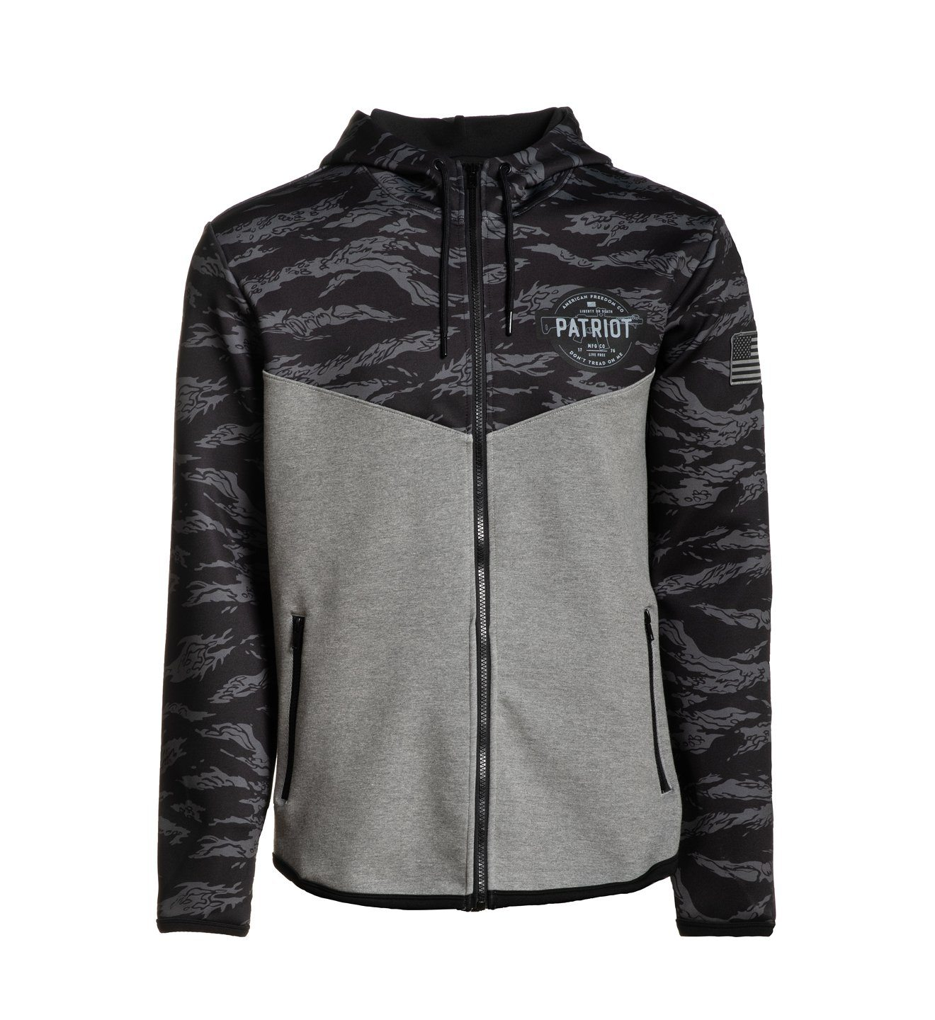 Bridgehead Zip Hood Jacket - Howitzer Clothing