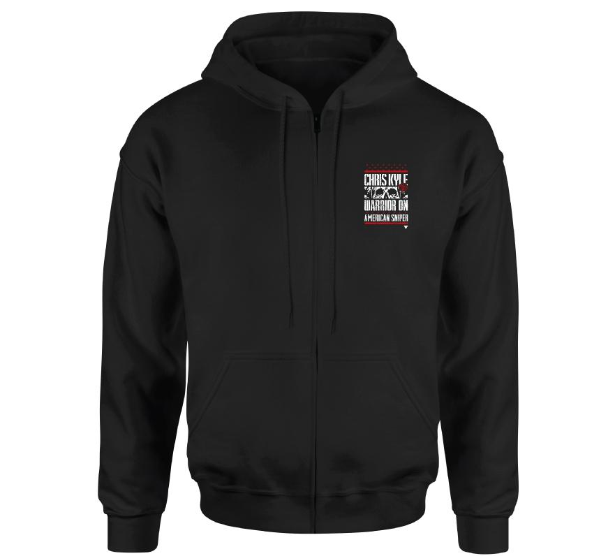 Mens Hooded Sweatshirts - Ck Warrior Spirit Zip Hood