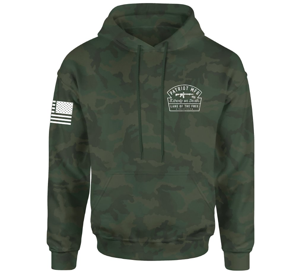 Land Of Liberty Po Hood - Howitzer Clothing