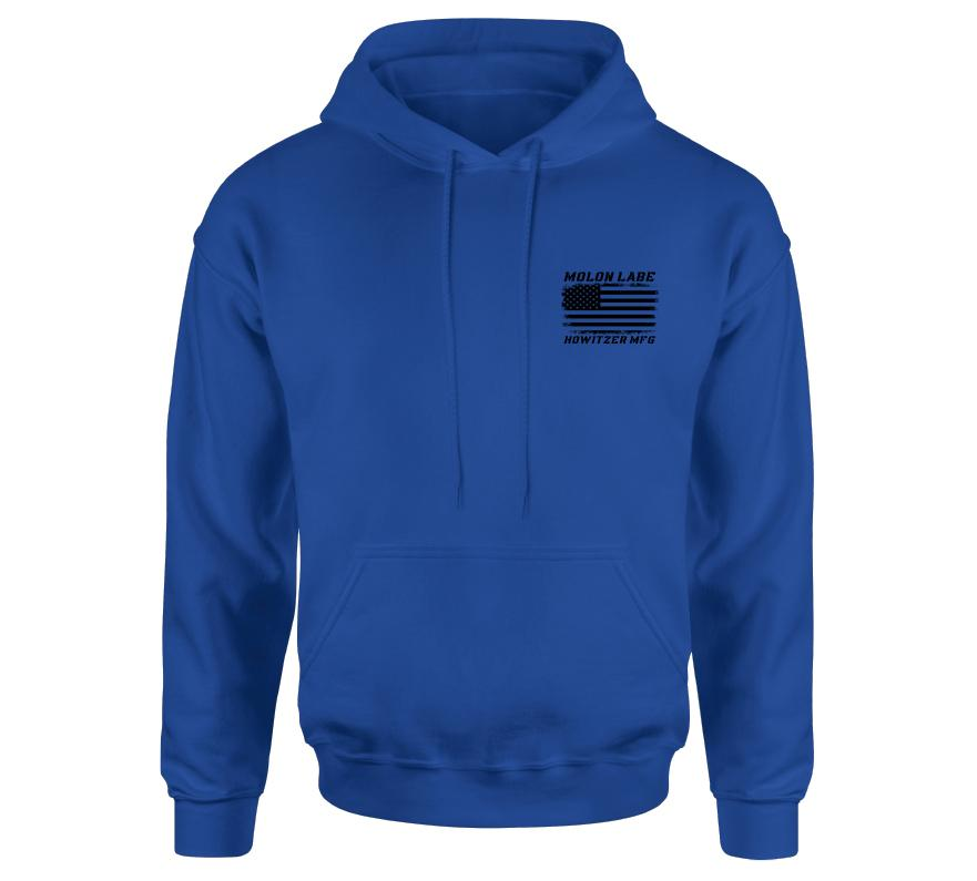 Mens Hooded Sweatshirts - Molon Labe Slither Po Hood