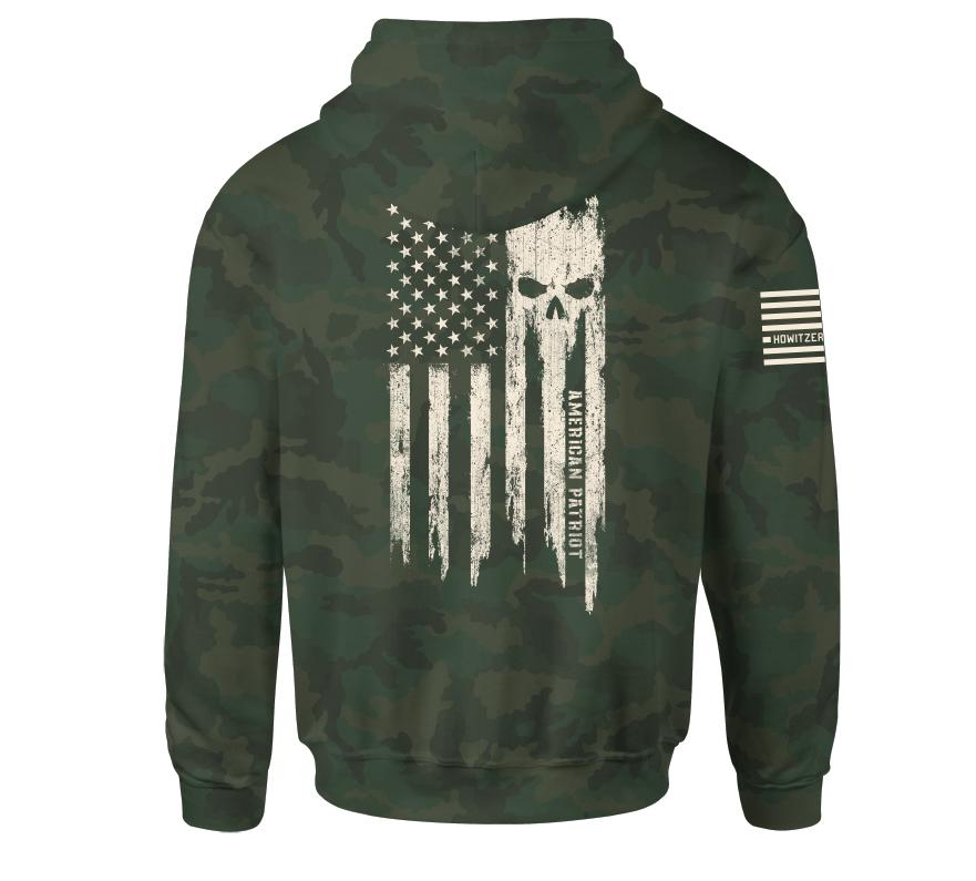 Patriot Torn Po Hood - Howitzer Clothing