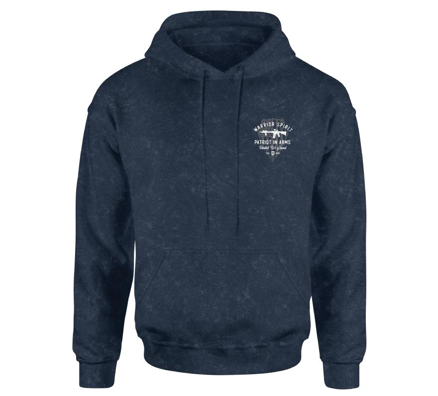 Mens Hooded Sweatshirts - Patriot Warrior Po Hood