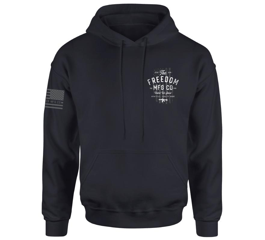 Mens Hooded Sweatshirts - Quality Goods Po Hood