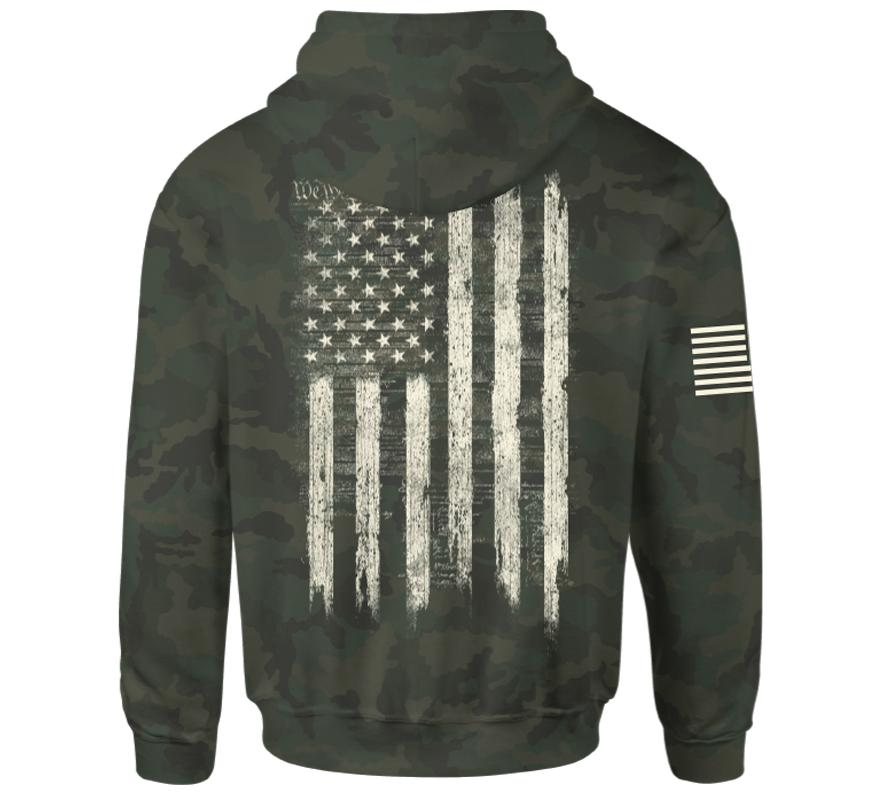 We The People Zip Hood - Howitzer Clothing