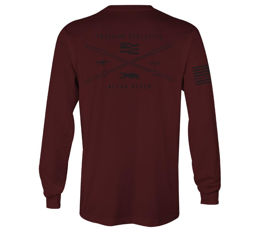 Mens Long Sleeve Tees - Freedom Athletics
