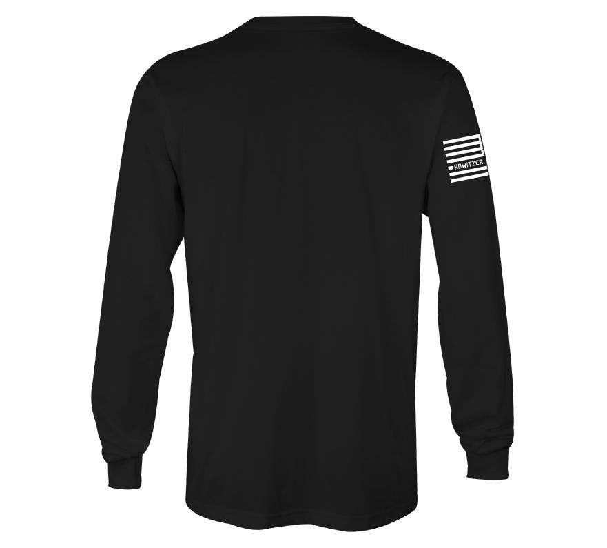 Mens Long Sleeve Tees - Howitzer Flag