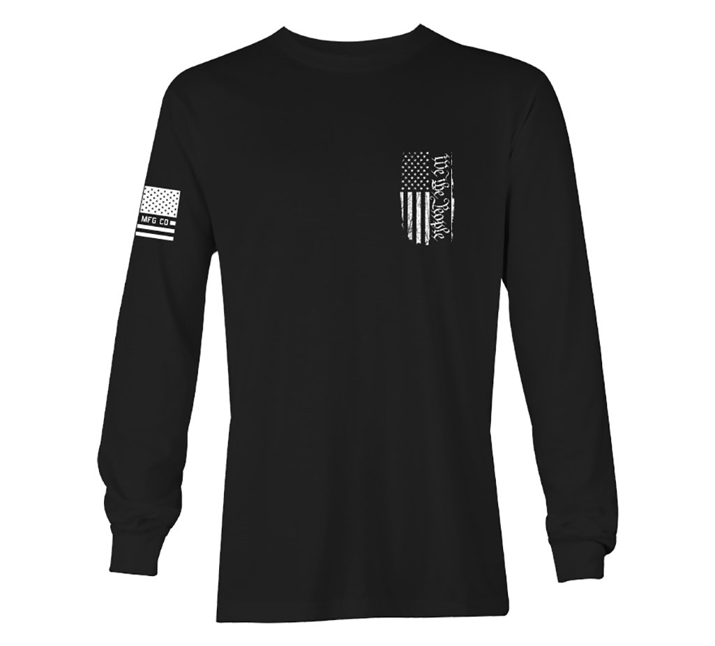 Mens Long Sleeve Tees - People