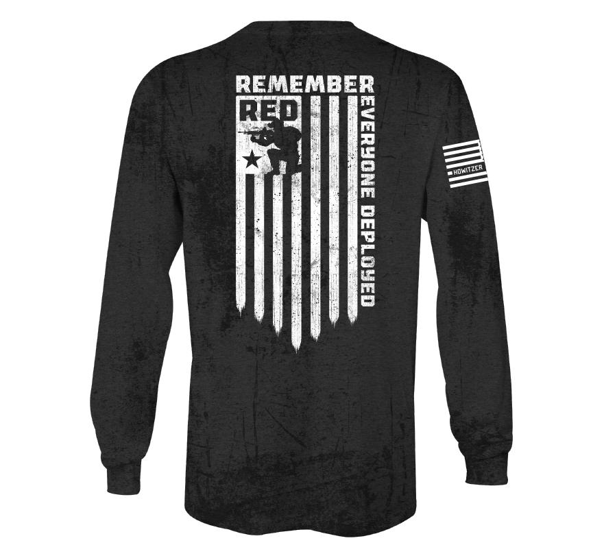Red Deployed - Howitzer Clothing