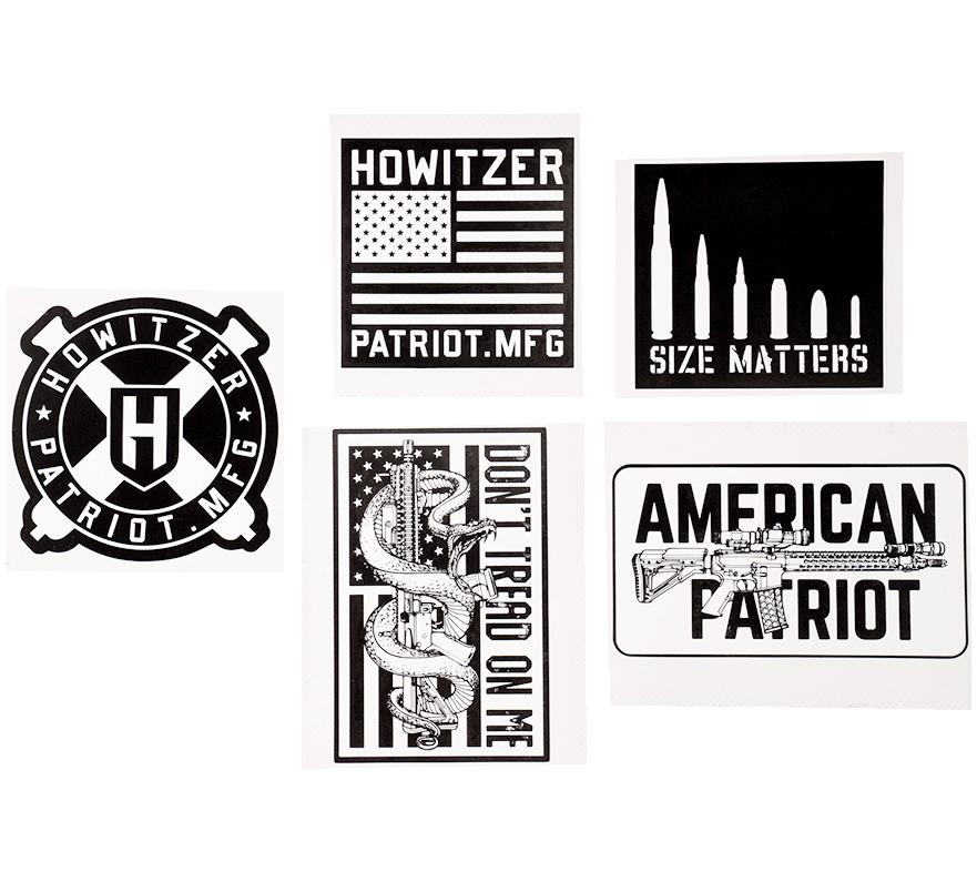 Howitzer Decals - Howitzer Clothing