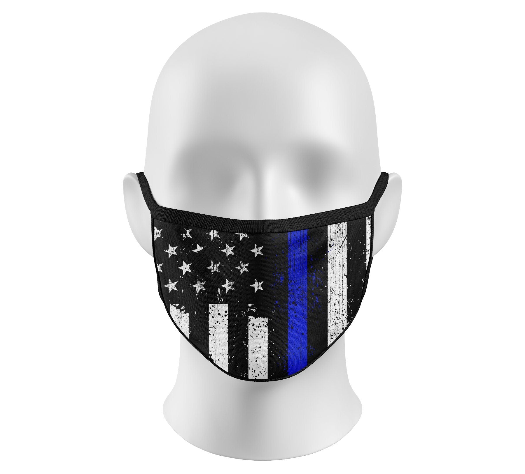 Mens Other Accessories - Respect Blue Face Mask