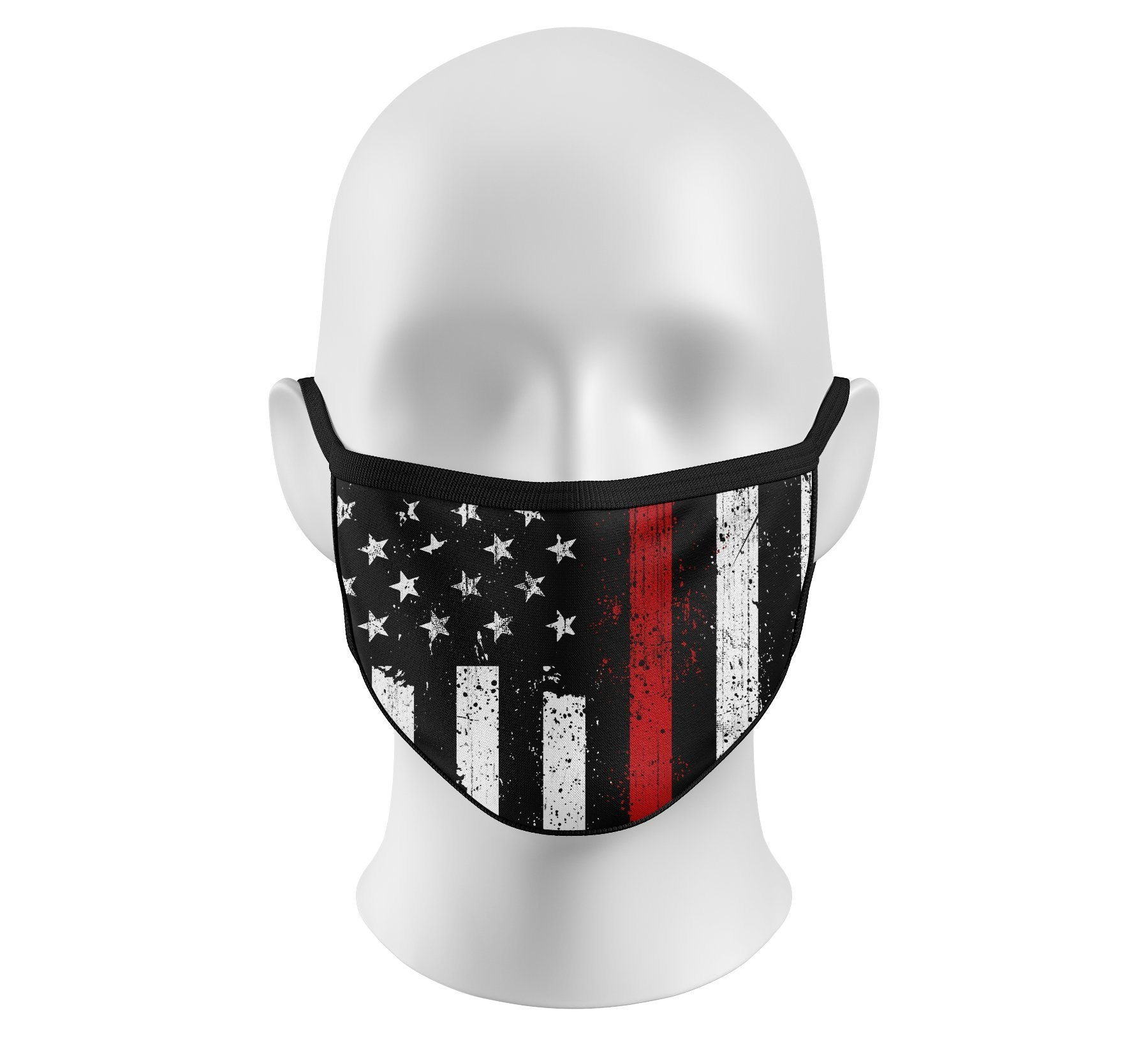 Respect Red Face Mask - Howitzer Clothing