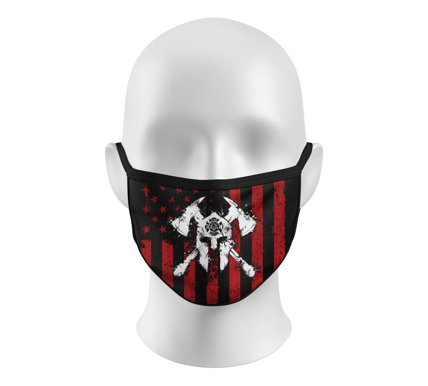 Spartan Fire Face Mask - Howitzer Clothing