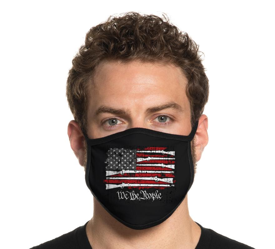 Mens Other Accessories - Standing Freedom Mask