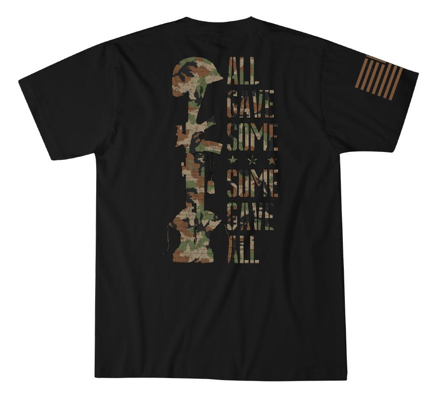 Mens Short Sleeve Tees - All Gave Some