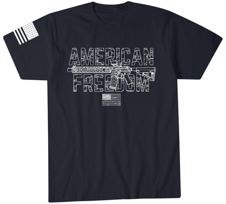 Mens Short Sleeve Tees - American Freedom