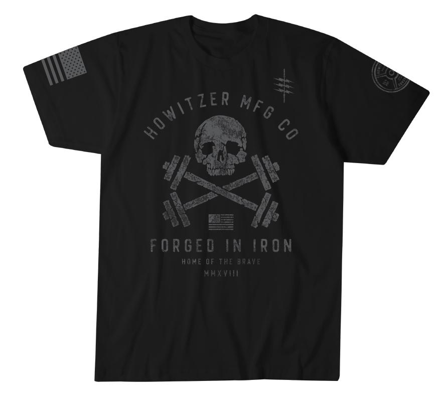 Mens Short Sleeve Tees - Brave Iron