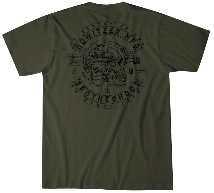 Mens Short Sleeve Tees - Brotherhood Blueprint