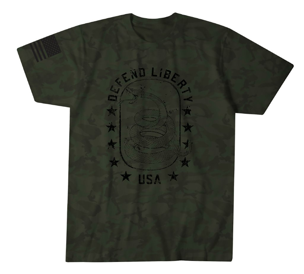 Mens Short Sleeve Tees - Defend