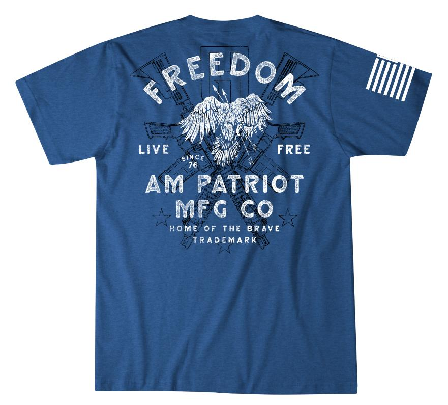 Mens Short Sleeve Tees - Eagle Glory