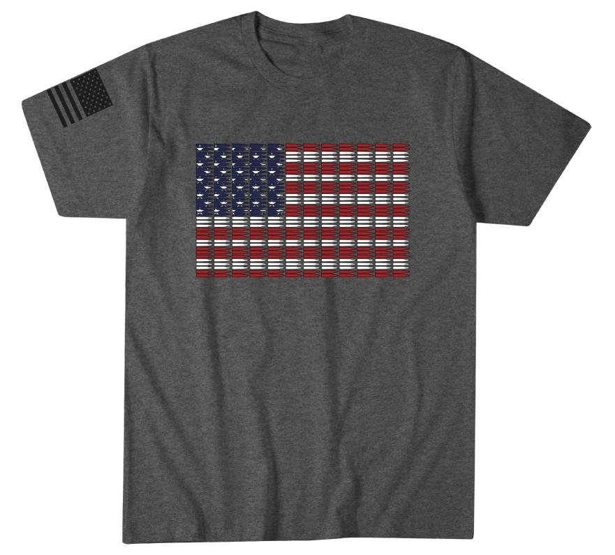 Mens Short Sleeve Tees - Flag Of Freedom