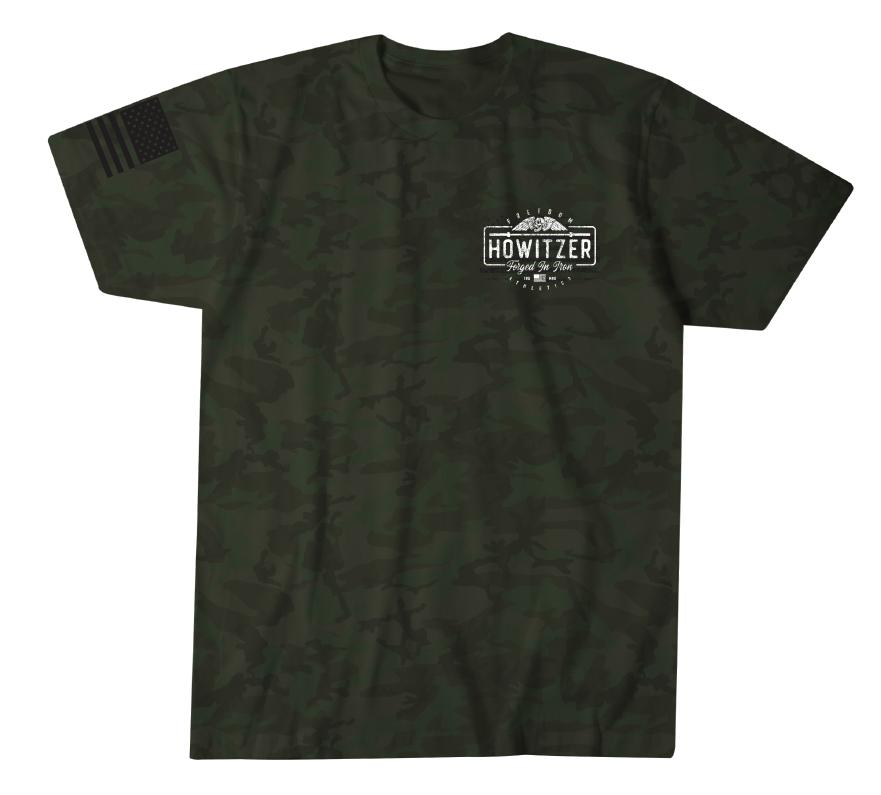 Mens Short Sleeve Tees - Forged In Iron