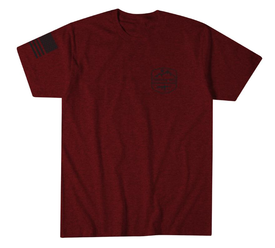 Mens Short Sleeve Tees - Freedom Mountain