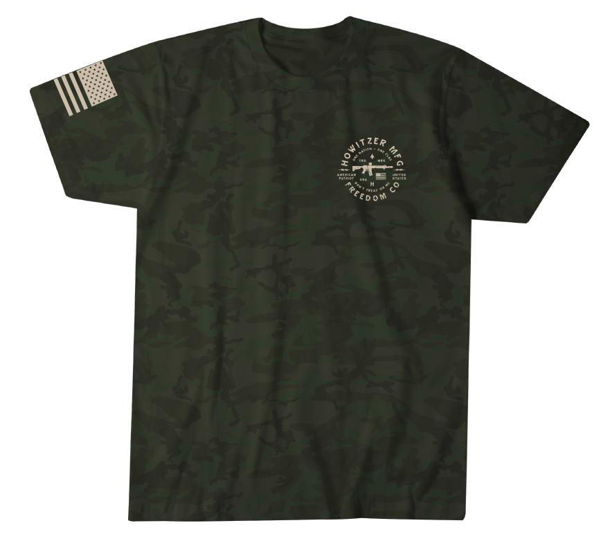 Mens Short Sleeve Tees - Freedom Spear