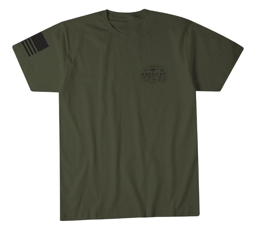 Mens Short Sleeve Tees - Liberty Mfg