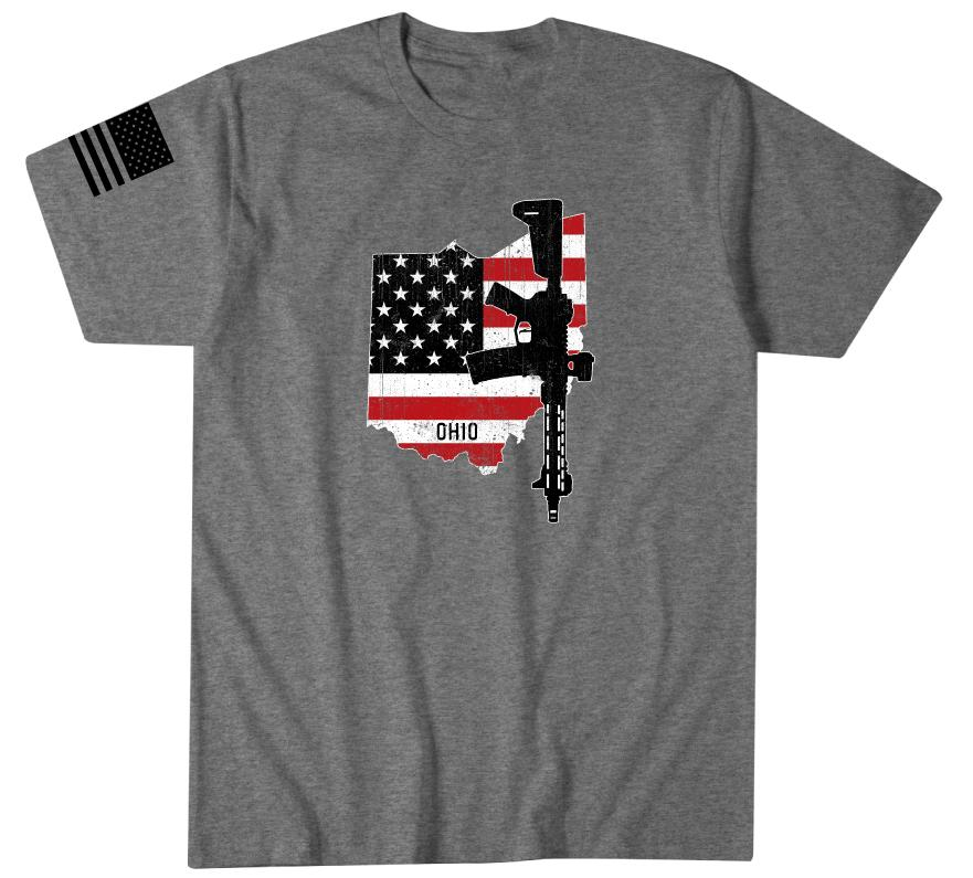 Ohio Flag - Howitzer Clothing