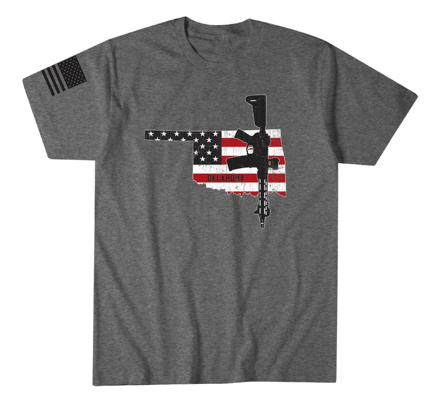 Oklahoma Flag - Howitzer Clothing