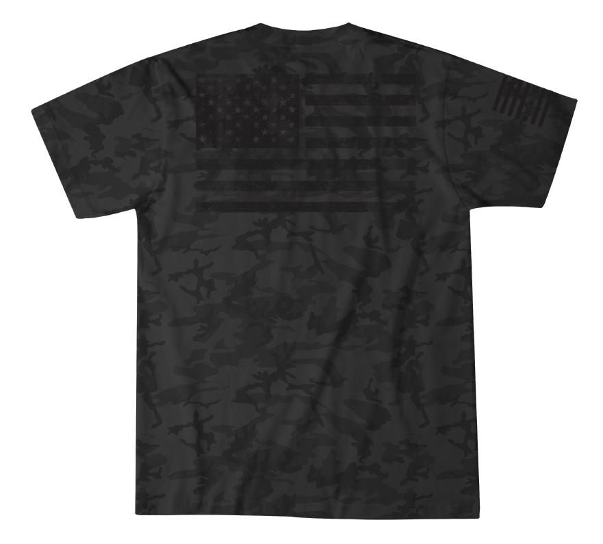 Mens Short Sleeve Tees - Patriot In Arms