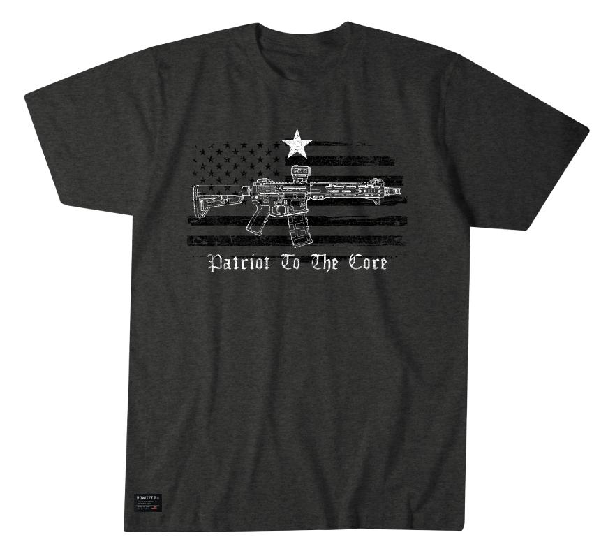 Mens Short Sleeve Tees - Patriot To The Core