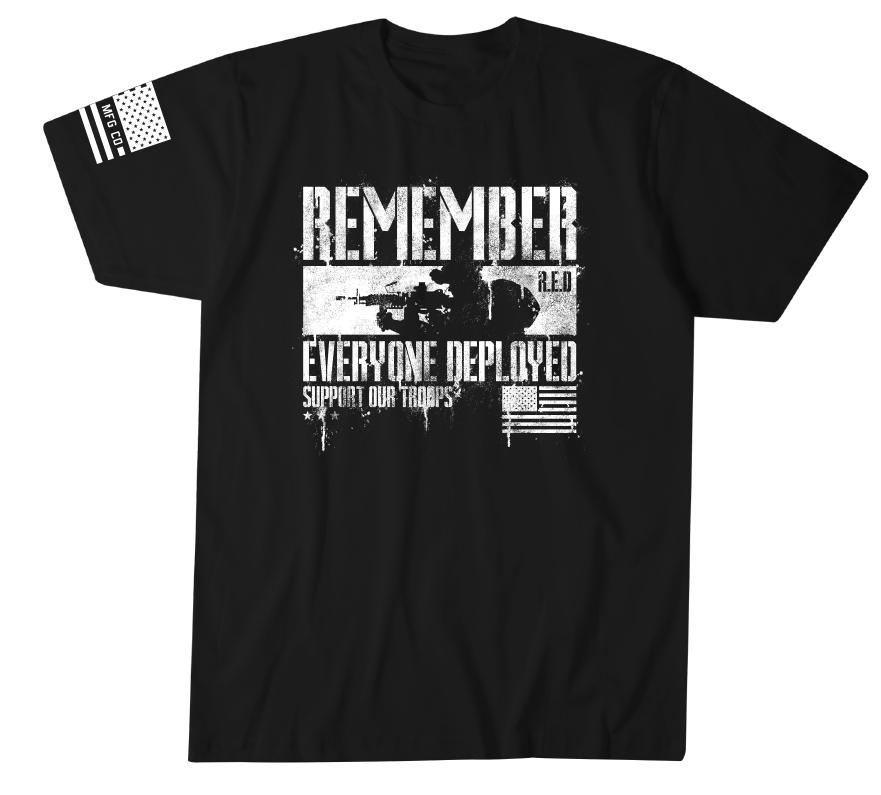 Red Respect - Howitzer Clothing