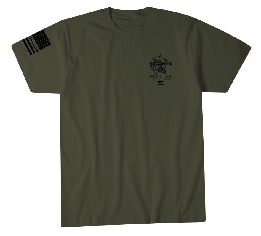 Mens Short Sleeve Tees - Spear