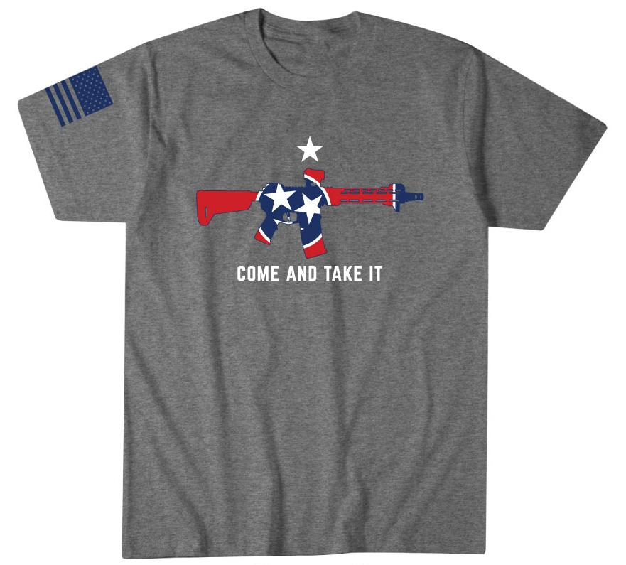 Mens Short Sleeve Tees - Tennessee Flag