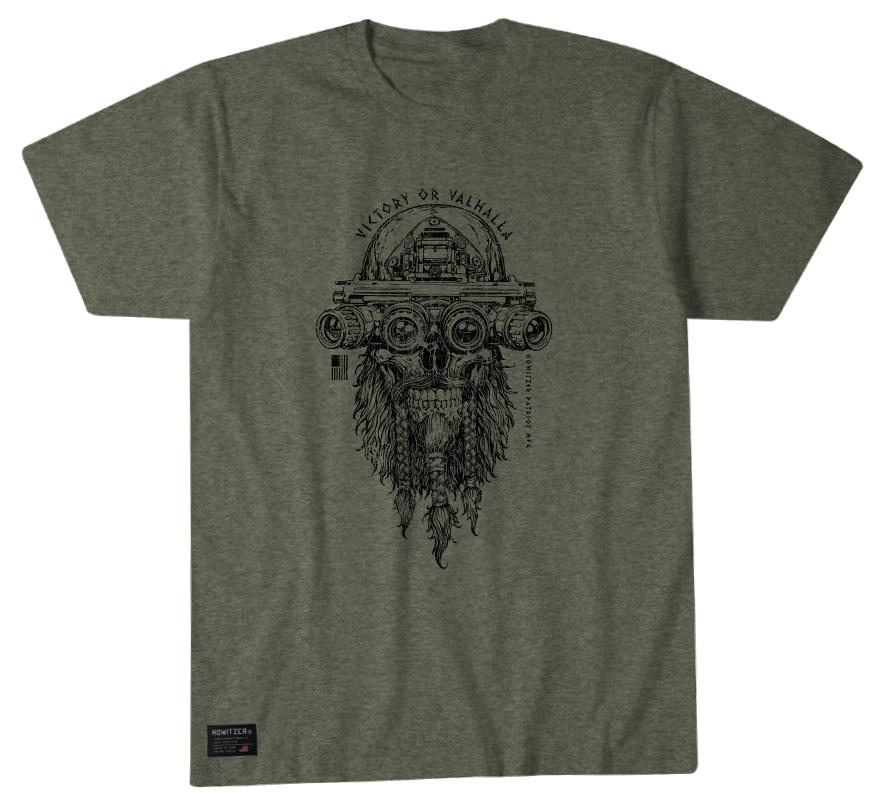 Victory Or Valhalla - Howitzer Clothing