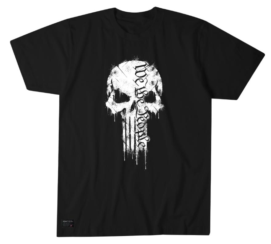 Mens Short Sleeve Tees - We The People Skull