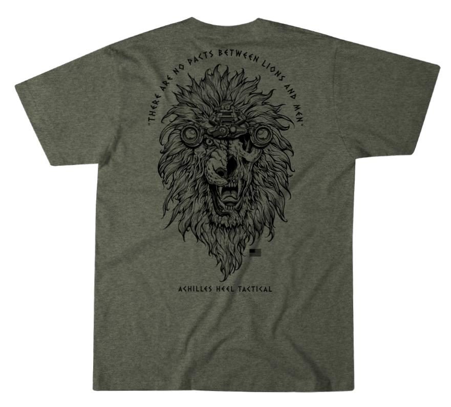 Mens Unassigned - Achilles Heel Lion