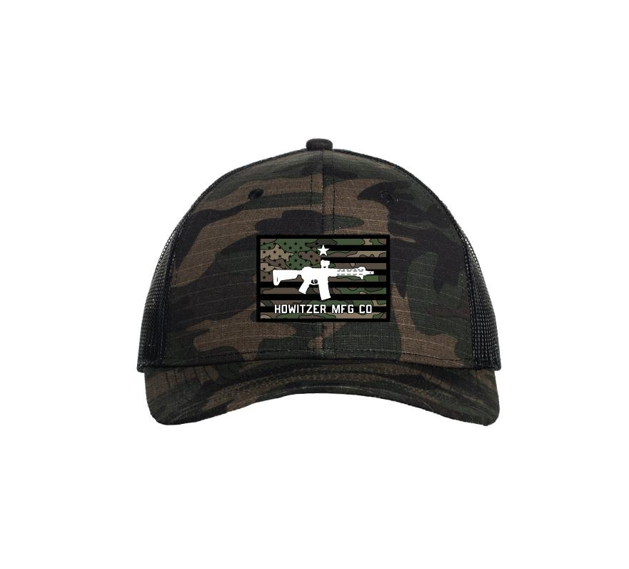 Mens Unassigned - Camo Flag Hat