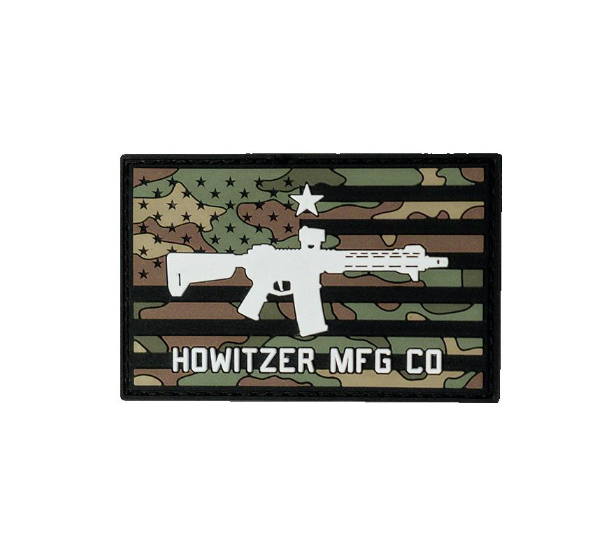 Camo Flag Morale Patch - Howitzer Clothing