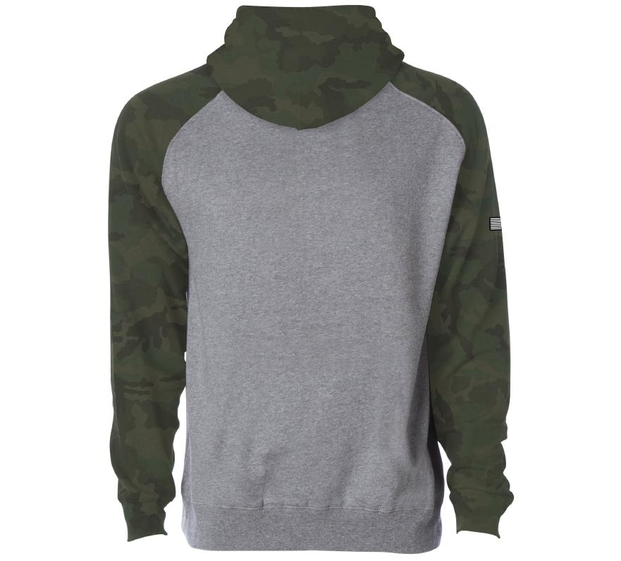 Mens Unassigned - Painted Freedom Po Hood