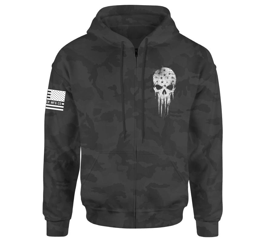 Patriot Smash Zip Hood - Howitzer Clothing