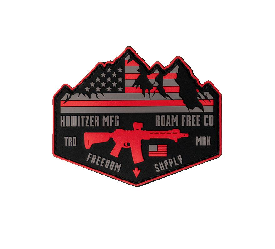 Roam Free Morale Patch - Howitzer Clothing