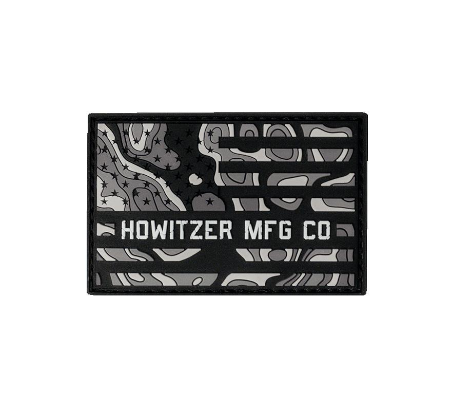Topo Flag Morale Patch - Howitzer Clothing
