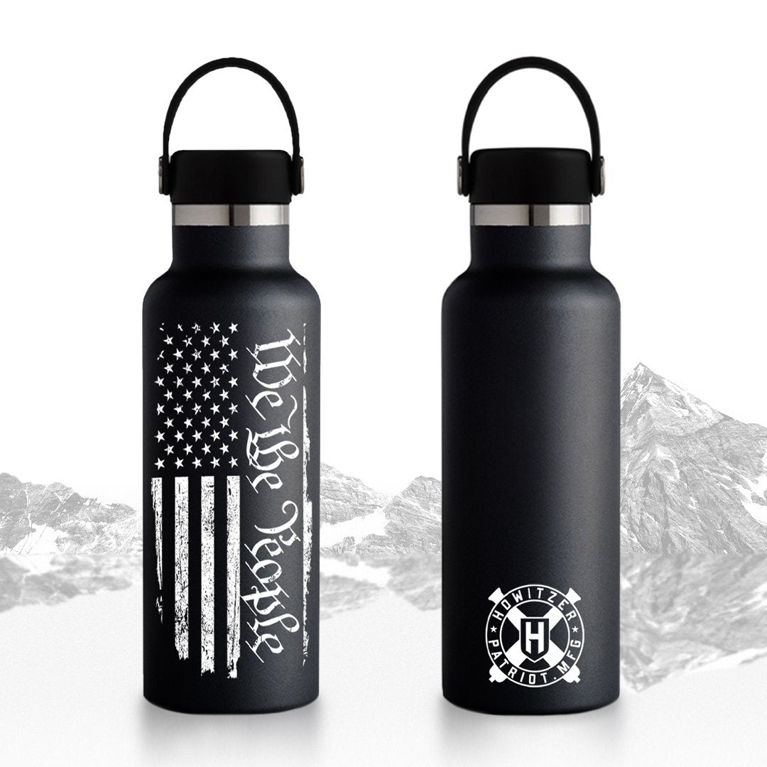 We The People Water Bottle - Howitzer Clothing