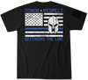 Defend The Line Short Sleeve Tee Howitzer Clothing