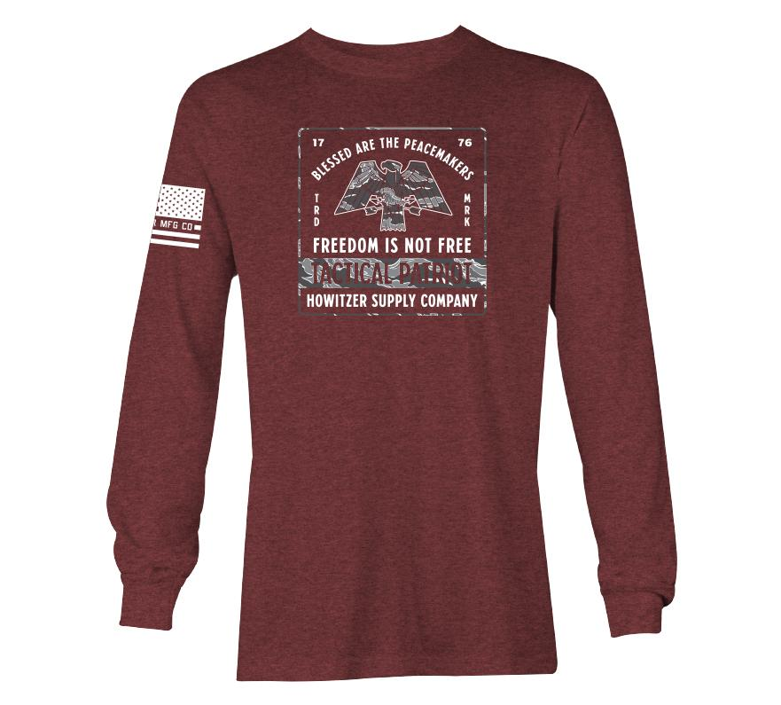 Womens Long Sleeve Tees - Patriot Co
