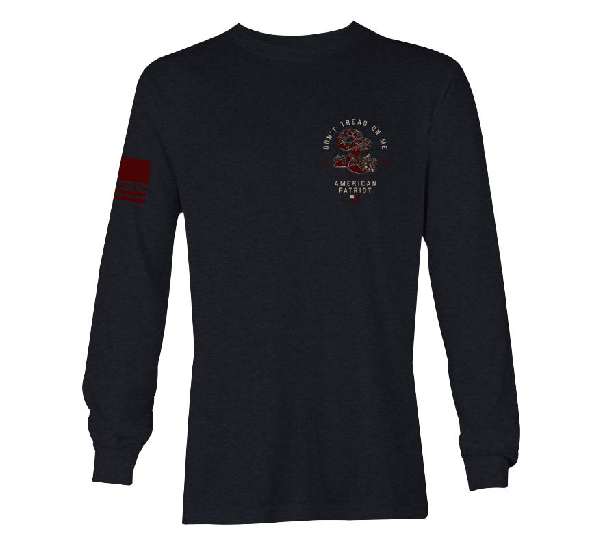 Womens Long Sleeve Tees - Slither