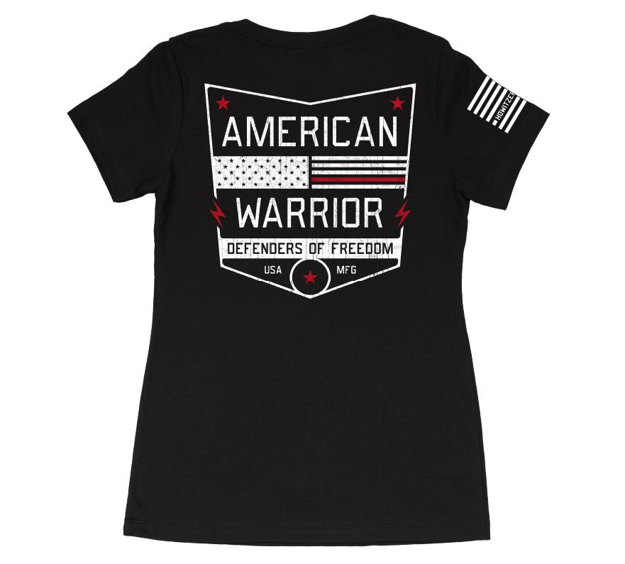 Womens Short Sleeve Tees - American Warrior