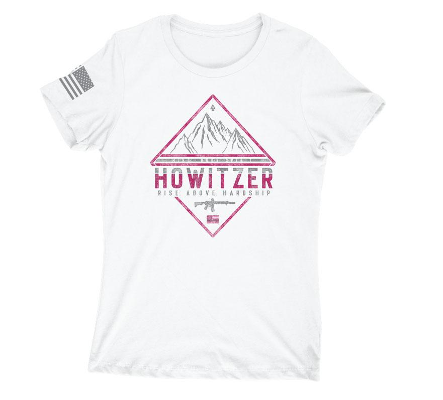 Womens Short Sleeve Tees - Rise Above Mountains